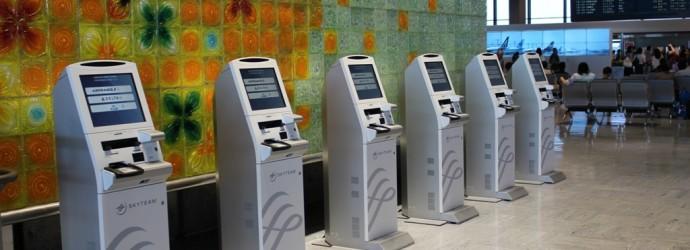 check in kiosk